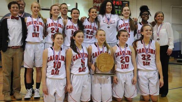 Tess Harris and the Carolina Day girls won last season's NCISAA 2-A championship