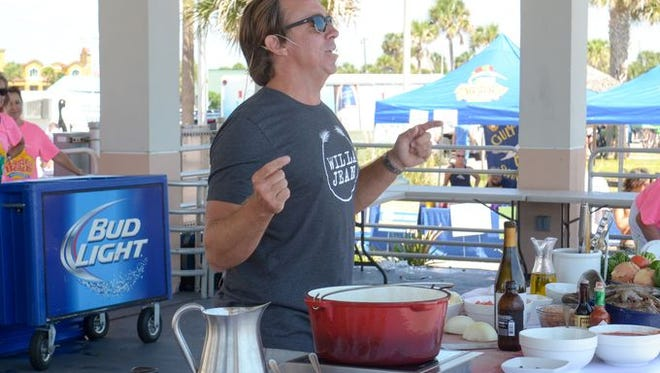 2015 Taste of the Beach with celebrity chef John Besh.