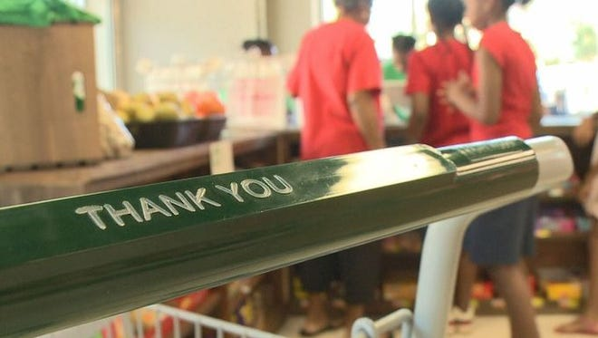 Carver's Neighborhood Market is a newbie in a world of gorilla grocery stores.