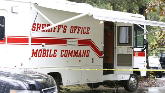 Steuben County Sheriff Office, Caton Police and New York State Police were on scene searching the nearby property and home on Tuesday.