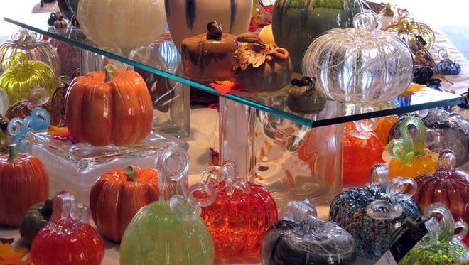 The ninth annual First City Art Center Pumpkin Patch takes place Friday and Saturday, with this year's crop of 2,400 pumpkins looking especially fit and colorful.