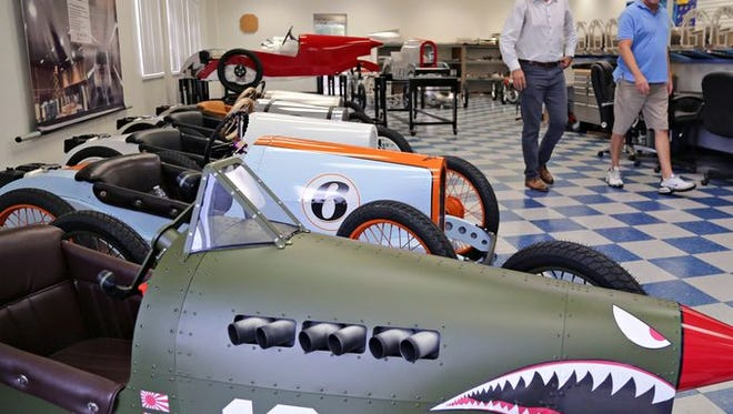 Vintage racers being made in Mesa plant for Grand Prix of Scottsdale.