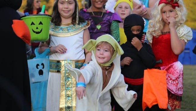 Celebrate Halloween in the Upstate this weekend at numerous kid-friendly events.