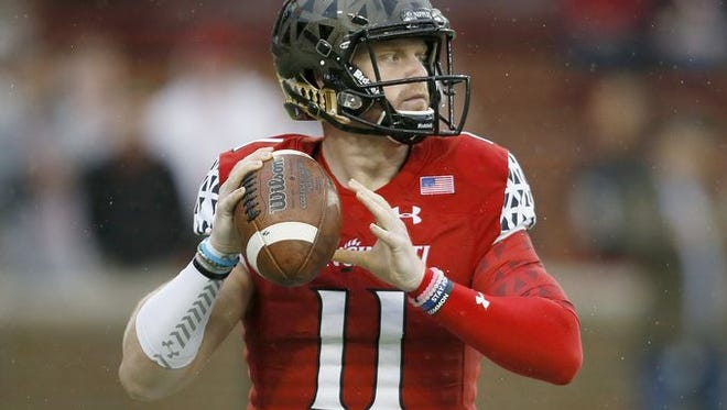 Gunner Kiel had a huge game against UConn on Saturday, his first appearance in a month.