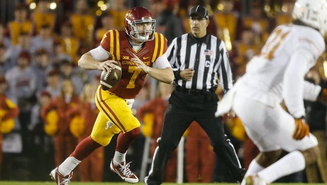 Iowa State quarterback Joel Lanning would prefer some contact during his team's next game at No. 14 Oklahoma.