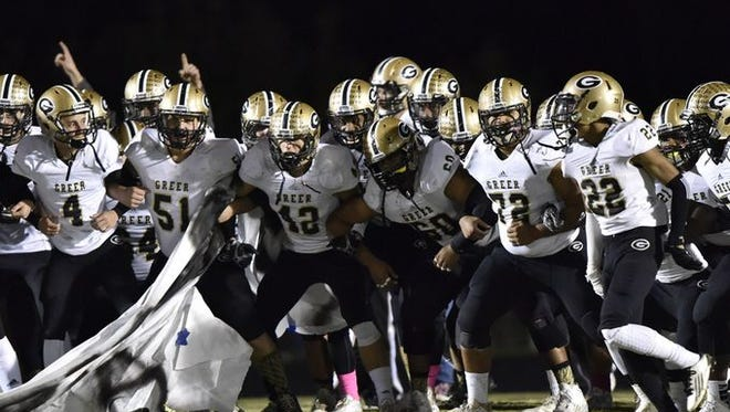 The Greer High football team, ranked No. 3 in Class AAA, opens the playoffs Nov. 13 at Dooley Field.