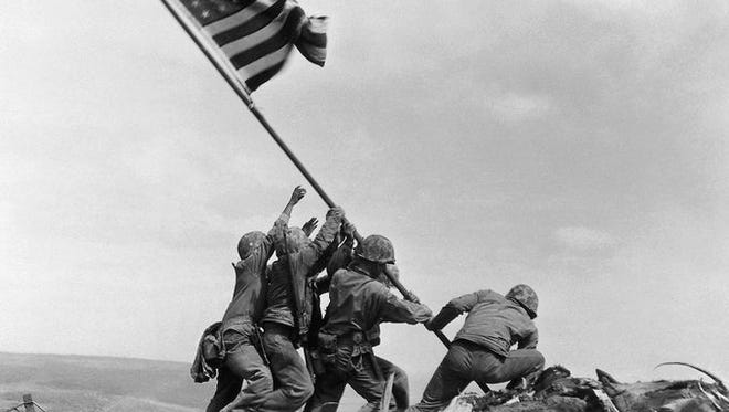 On Feb. 23, 1945, 33-year-old Associated Press photographer Joe Rosenthal, who had been rejected from the Army because of poor eyesight, took a photograph that would ultimately become one of the most recognizable and reproduced images in history.