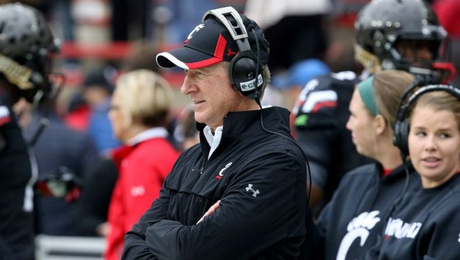'It's way disappointing,' UC coach Tommy Tuberville said, acknowledging that the Bearcats have failed to meet expectations.