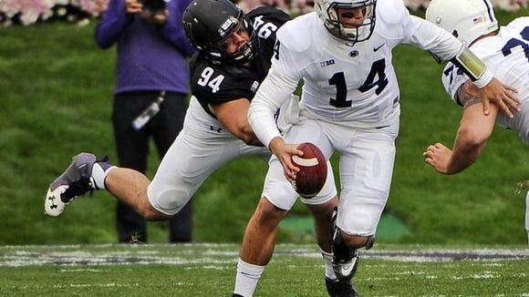 Penn State quarterback Christian Hackenberg and the