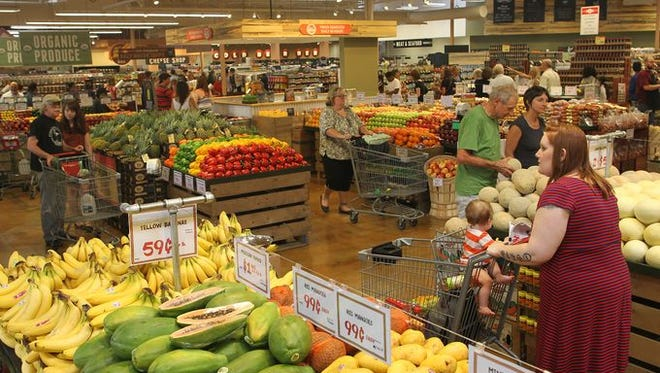 Lucky's Market will open its first Brevard County store, in West Melbourne, on Jan. 11. The Boulder, Colorado-based high end supermarket is growing across the Midwest and into Florida. This is from a Lucky's that opened in Iowa City.