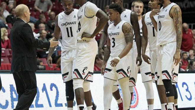 UC coach Mick Cronin appears to have the deepest team in his 10-year Bearcats tenure.
