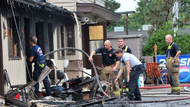 An Aug. 17 fire at the Ponderosa Motel in Wausau displaced 27 people, many of whom were already living in precarious circumstances.