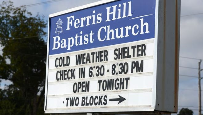 A cold weather shelter for the homeless or those without heat will be open three nights at Ferris Hill Baptist Church, 6848 Chaffin St. in Milton, according to a news release from the Santa Rosa County public information office.