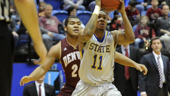 George Marshall missed six games with a foot injury for SDSU