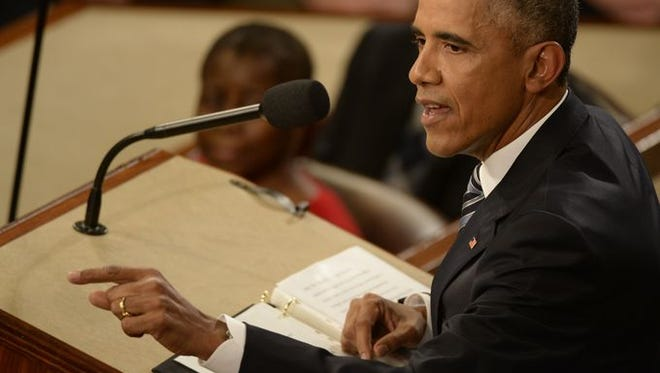 The President delivers his final State of the Union address on Tuesday.  Jack Gruber, USA TODAY