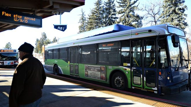 The new FLEX route between Fort Collins and Boulder will be free to ride from Jan 18 to Jan 22.