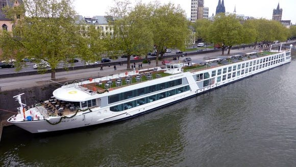 An Emerald Waterways river cruise ship.