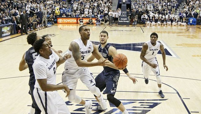 No. 5 Xavier has little time to dwell on Tuesday's loss to Georgetown, as Seton Hall is just around the corner at 2 p.m. Saturday.