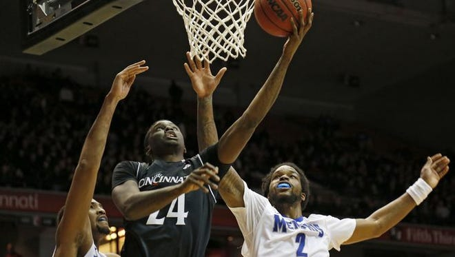 Shaq Thomas said UC well remembers its last-second loss to Tulane from last season. Thomas matched his career high with 18 points in the win over Memphis on Thursday.