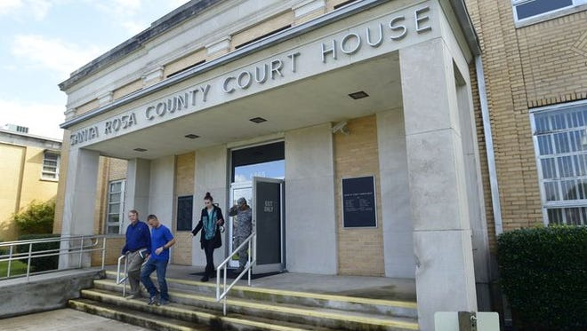 A proposed Pine Street site for a new Santa Rosa County judicial center is still on the table, with a final decision about a future courthouse location expected later this month.