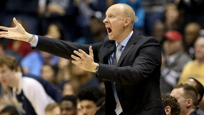 "Xavier coach Chris Mack was disgusted with the team's 1-3-1 defense against Marquette, calling it ""fry ball."" The Musketeers have even stiffer defensive tests this week at Creighton and Butler."