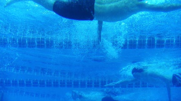 An awesome look from the underwater window at York Suburban.