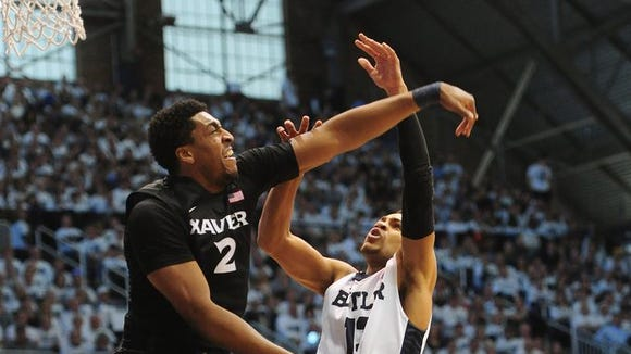 Xavier senior James Farr went from zombie to rebounding