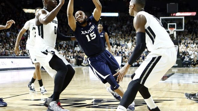 The Big East's top two scorers - No. 23 Providence's Ben Bentil (left) and Kris Dunn (right) - are coming to Cintas Center for Wednesday's Top 25 clash against No. 8 Xavier. Tip-off is at 7 p.m.