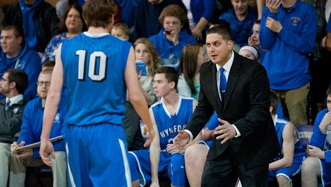 Wynford coach Jason Engel will be taking the Royals to the district tournament in his first season as head coach.