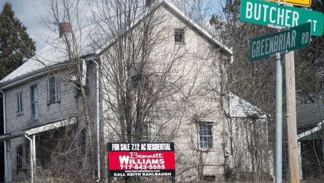 The home of Henry F. Frey, a place with a Civil War history, is up for sale on Greenbriar Road in Manchester Township.