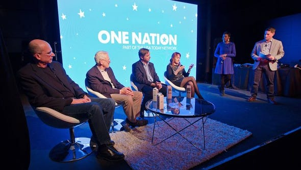 Cara Anthony and Mackenzie Warren host One Nation: