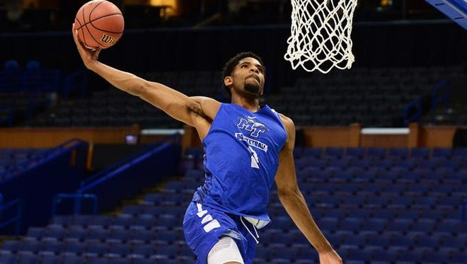 MTSU senior forward Perrin Buford is a player to watch in Friday's game.