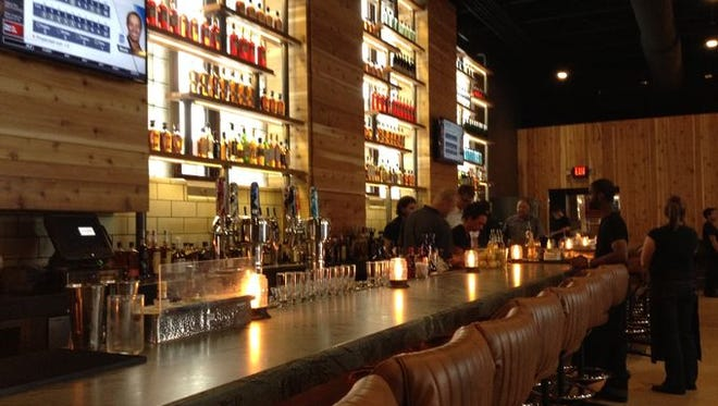 The bar at Union 50.