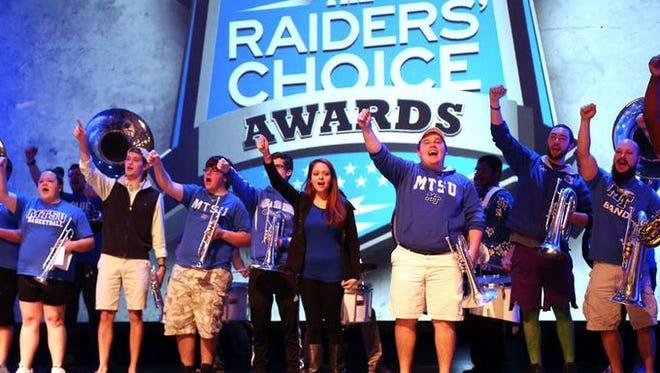 MTSU will honor its athletes on Thursday at the Raiders Choice Awards.
