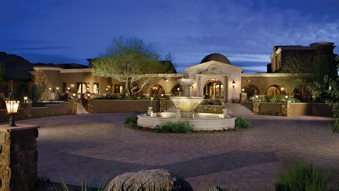 Via Ventosa Scottsdale LLC, led by orthopedic surgeon Blake Stamper, paid $13.7 million - the second-highest price ever paid for an Arizona home. The 25,000-square-foot mansion sits on almost seven acres south of Pinnacle Peak and west of the McDowell Mountains. The property includes nine bedroom suites two lofts, all with private patios and balconies, a two-story exercise building and a 12-car garage. The property was sold by Bel Sogno Estate LLC, led by Marcia Rowley, co-founder of International Cruise & Excursions Inc.