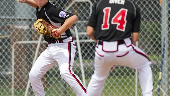 Little League is looking to move its Central Region headquarters out of Indianapolis. Shown here is a New Albany Little League game in 2014.
