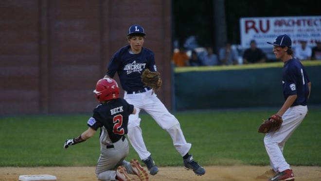 Lincroft plays Jackson in the Section 3 Little League Tournament last year.