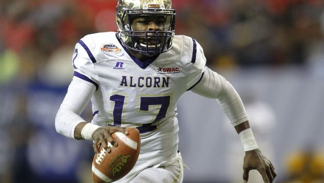 Lenorris Footman could miss Saturday's must-win game against MVSU with an injury to his throwing hand.