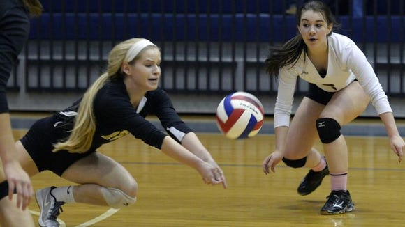 Karigen Emig, wearing black, will be one of Delone Catholic's senior leaders this fall.