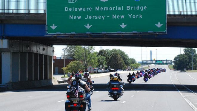Motorcyclists from across the United States participated in America's 9/11 Ride in 2015.
