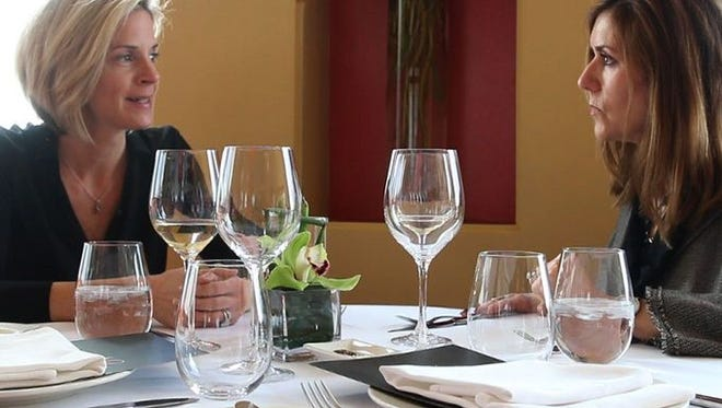 Diners enjoy an afternoon with APP Luxury Living editors and Chef Nicholas Harary at a recent Luxe Luncheon