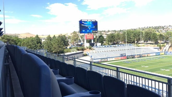 Mackay Stadium's renovation is just one of a number of changes AD Doug Knuth wants to have completed in the next couple of years.