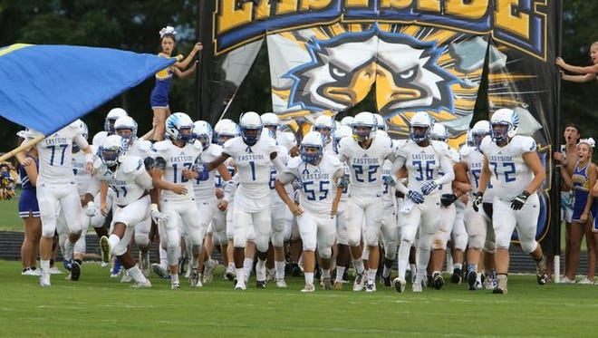The Eastside Eagles will play on the road against Union County in their Region 2-AAAA opener Friday night.
