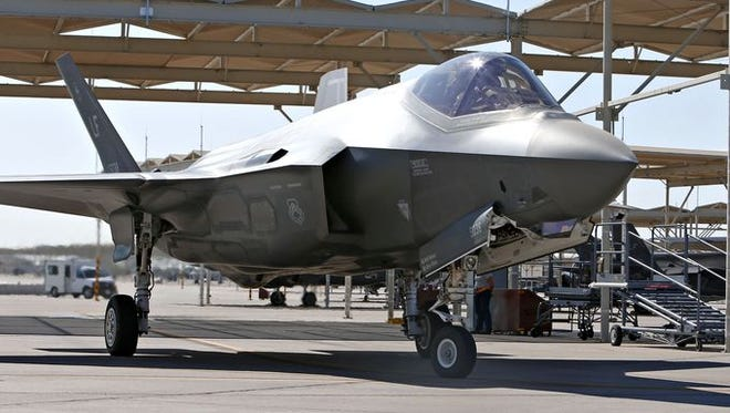 Scaling back on F-35-related projects could have a devastating effect on the Phoenix area's Luke Air Force Base, which contributes more than $1 billion annually to our economy.
