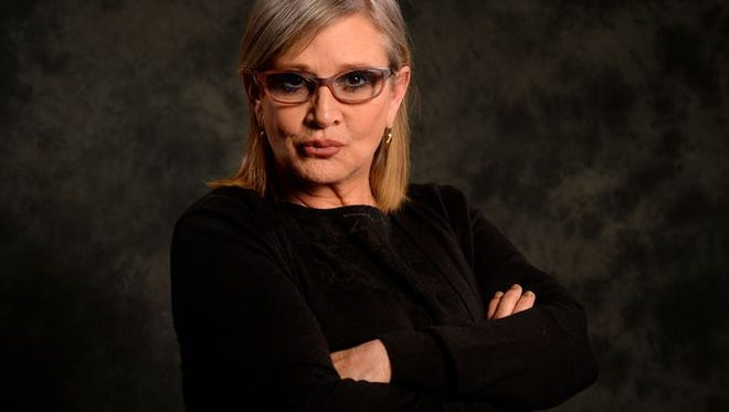 Carrie Fisher, photographed in Dec. 2015.