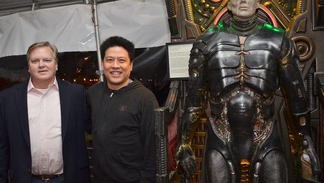Pensacon VIP Pre-Party at the Pensacola Fish House with Star Trek: Voyager actor Garrett Wang.