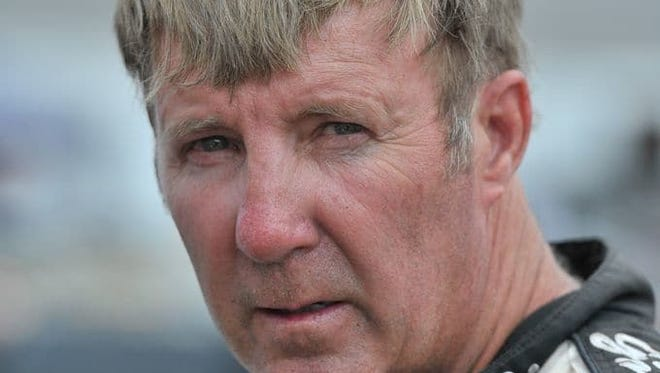 Sterling Marlin is at the Daytona 500 where he was honored by the Living Legends of Auto Racing.