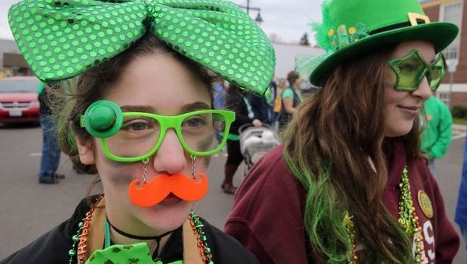 The Bremerton St. Patrick's Day Parade takes place on Saturday.