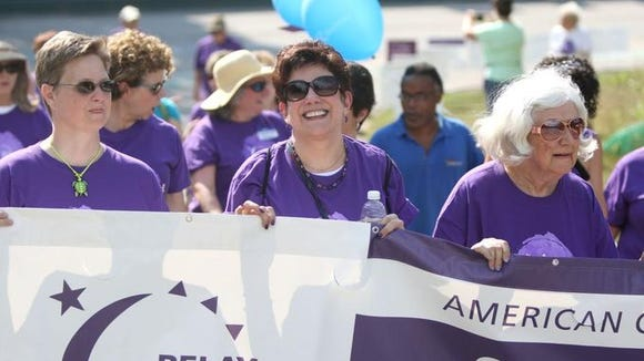The Relay for Life is April 29 in Asheville. A free Survivor's Dinner is April 4 at Carolina Day School.