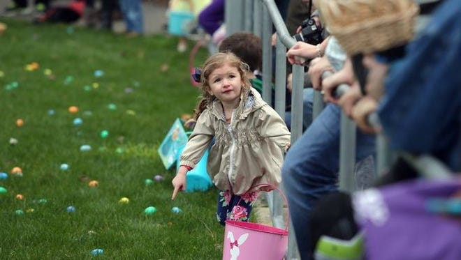 Easter egg hunts take place throughout Kitsap County over the weekend.